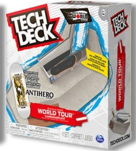 [Tech deck] TD-BP005 텍덱 Build a Park - World tour 'LANDHAUSPLATZ' (올림픽 Ver) / Tech deck fingerboard