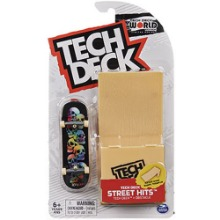 [Tech deck] SH-010 텍덱 핑거보드 스트리트 히트 (올림픽 Ver) Revive / Tech deck fingerboard Street Hit